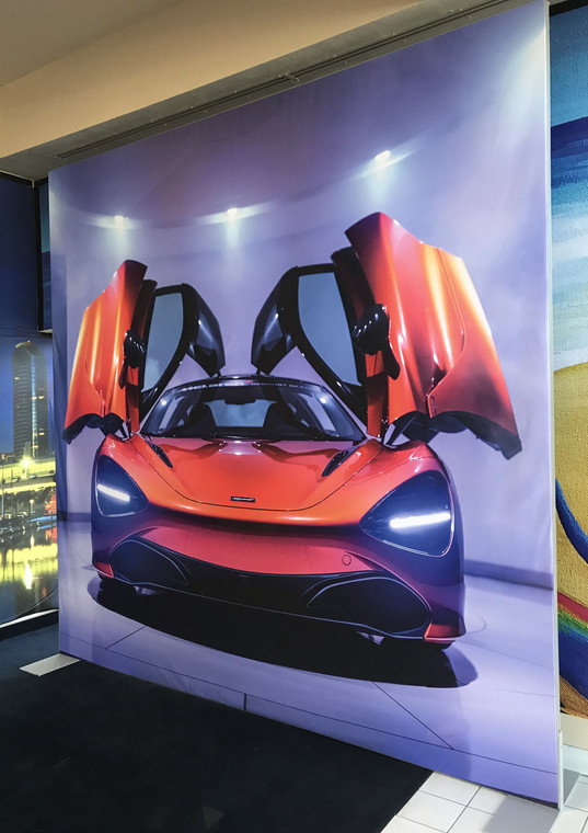 Showcasing your company with a sleek, rich and vibrant print will definitely attract customers. Contact us for all your Backlit Fabric questions.