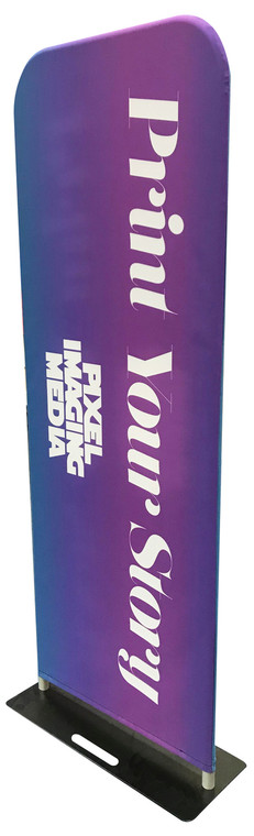 24″ EZ Extend Tension Fabric Banner Stand