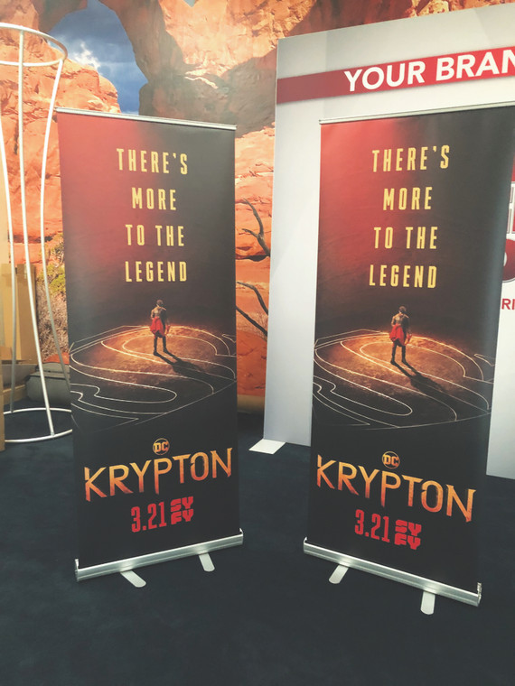 "48"" Retractable Banner Stands"