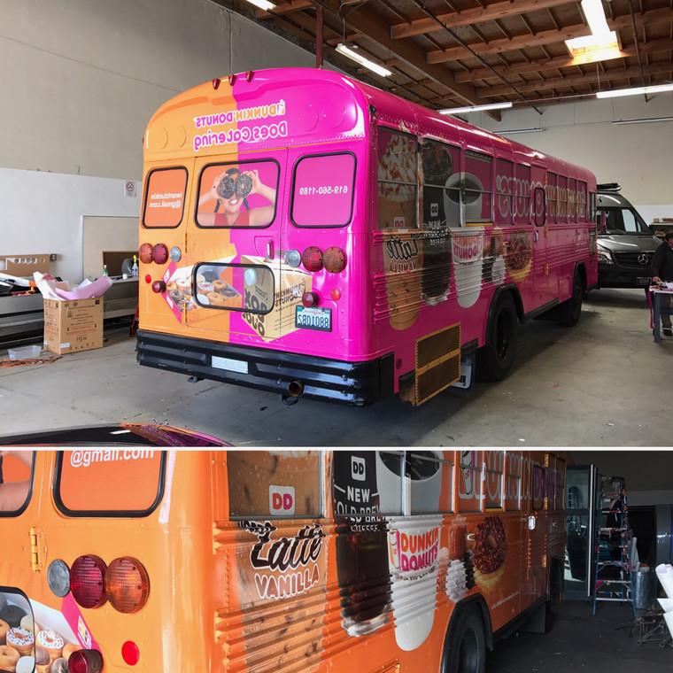 Full Bus Wrap