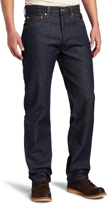 Levi's Men 501 Original Fit Button Fly Rigid Blue STF 00501-0000