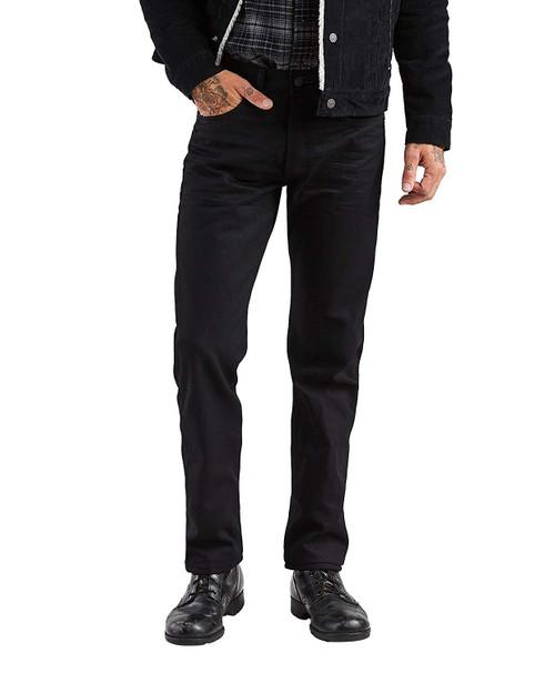 Levi's Men 501 Original Fit Button Fly Polished Nickel Black 00501-0638