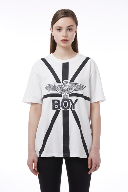 Boy London Big Print Short Sleeve Tee BH2TS155 (FINAL SALE)