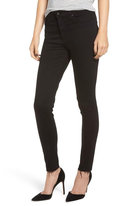 AG Adriano Goldschmied Women's Farrah Skinny Ankle Jeans DBD1777RH Black Ink