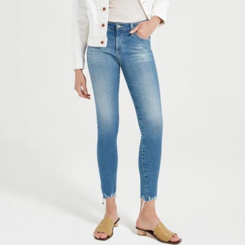 AG Adriano Goldschmied Women's Farrah Skinny Ankle Jeans EMP1777DH 18 Years Vacancy