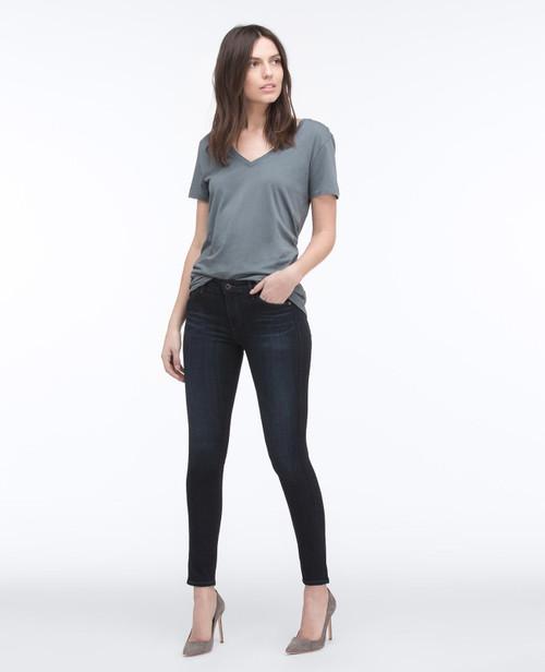 AG Adriano Goldschmied Women's Legging Ankle Skinny Jeans SPD1389 Coal Grey