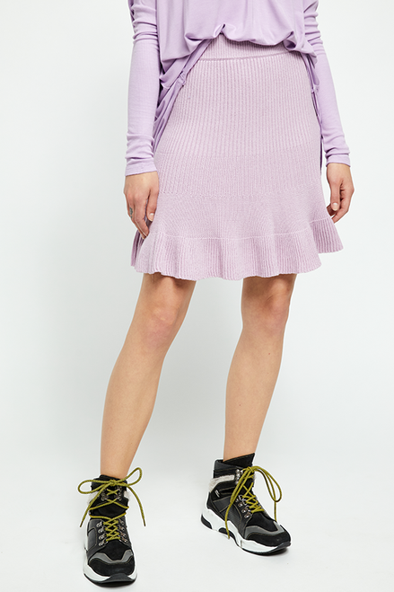 Free People Solid Gold Skirt Orchid Lilac OB1010824 (FINAL SALE)