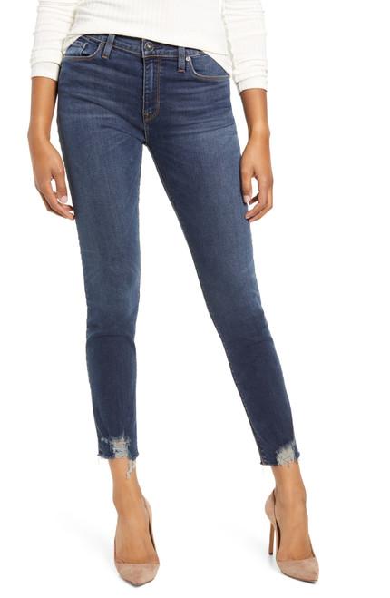 Hudson Jeans Women's Nico Mid Rise Super Skinny WMC407DLV Stanley (FINAL SALE)