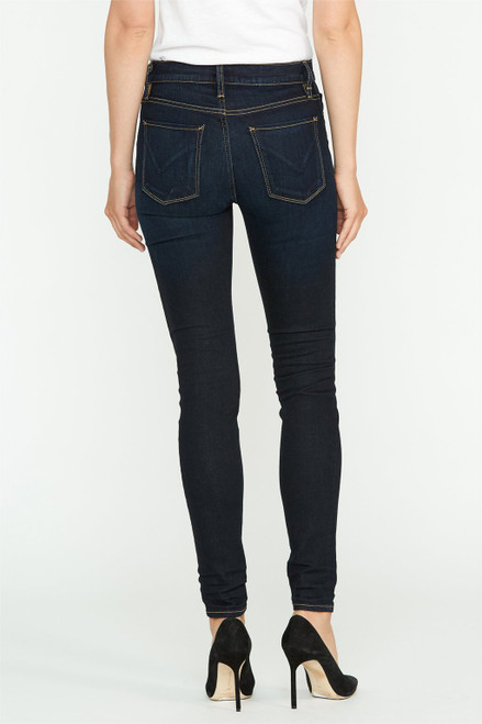 Hudson Jeans Women's Nico Mid Rise Super Skinny WM407DBS Rotation (FINAL SALE)