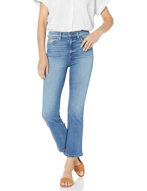 Hudson Jeans Women's Holly High Rise Crop Flare WHC551DLV Strike (FINAL SALE)