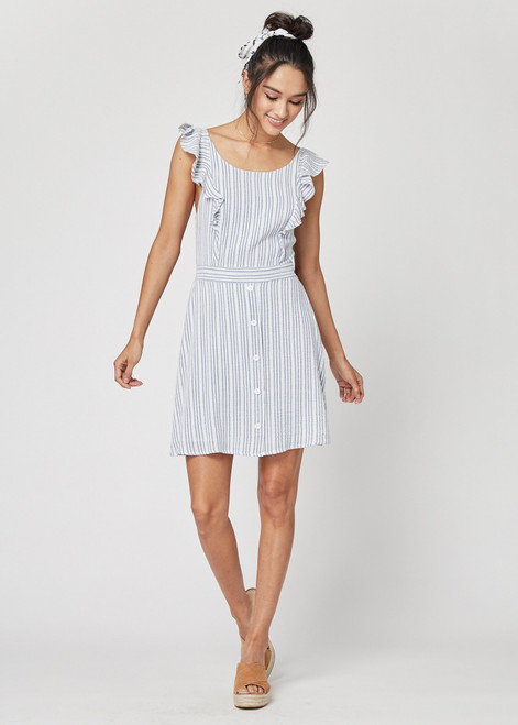 Lost + Wander Low Tide Ruffle Mini Dress WDB63481 (FINAL SALE)