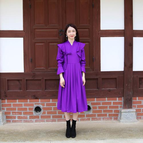 Leesle Juliet Frill Dress