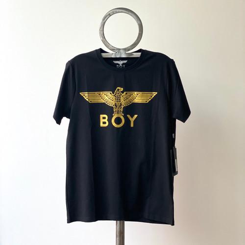 Boy London Gold Logo Black Tee EB-BT04 (FINAL SALE)