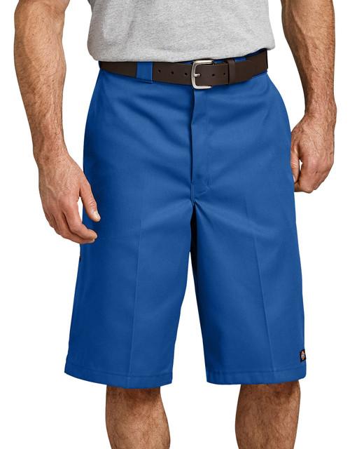 "Dickies M 13"" Loose Fit Multi-Pocket Work Short 42283RB Royal Blue"