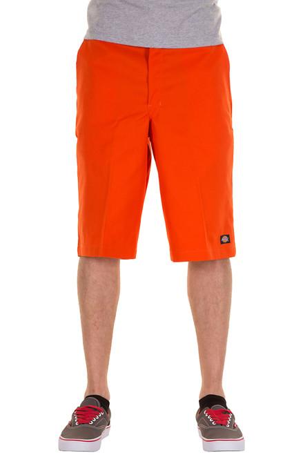 """Dickies M 13"""" Loose Fit Multi-Pocket Work Short 42283OR Orange"""