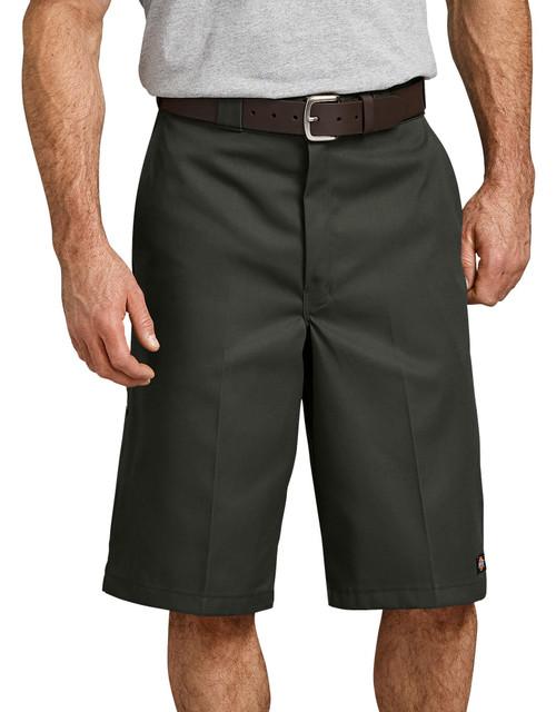 """Dickies M 13"""" Loose Fit Multi-Pocket Work Short 42283OG Olive Green"""
