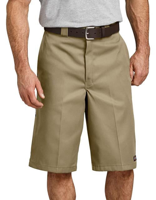 """Dickies M 13"""" Loose Fit Multi-Pocket Work Short 42283KH Khaki"""