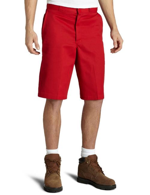 "Dickies M 13"" Loose Fit Multi-Pocket Work Short 42283ER English Red"
