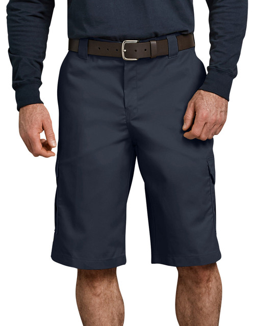 """Dickies M 13"""" Relaxed Fit Cargo Work Short WR557DN Dark Navy"""