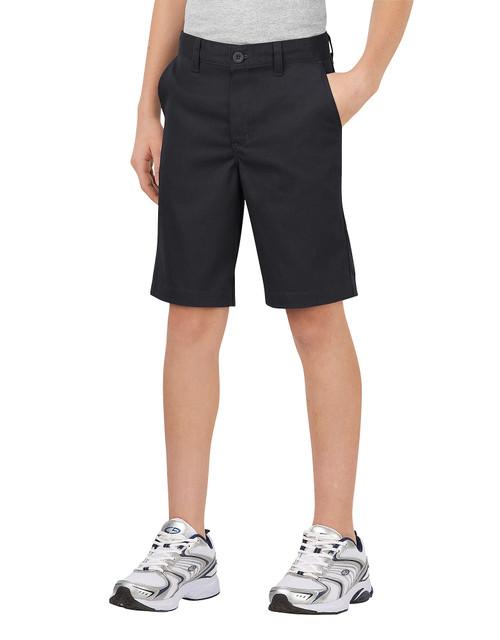 Dickies Big Boy's Classic Fit Flat Front Short KR700BK Black