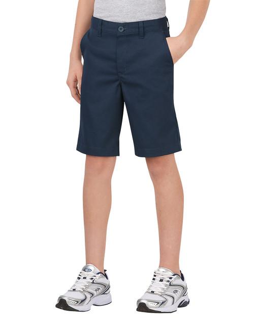 Dickies Big Boy's Classic Fit Flat Front Short KR700DN Dark Navy