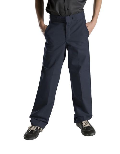 Dickies Big Boy's Double Knee Extra Pocket Pants 85562DN Dark Navy (FINAL SALE)