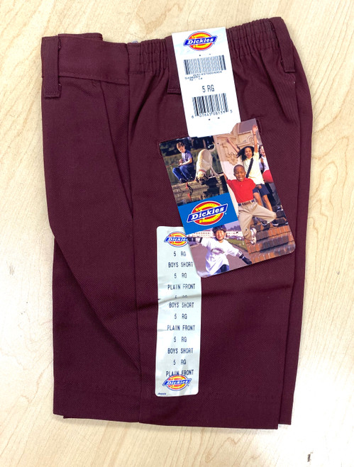 Dickies B Plain Front Shorts 54562BY