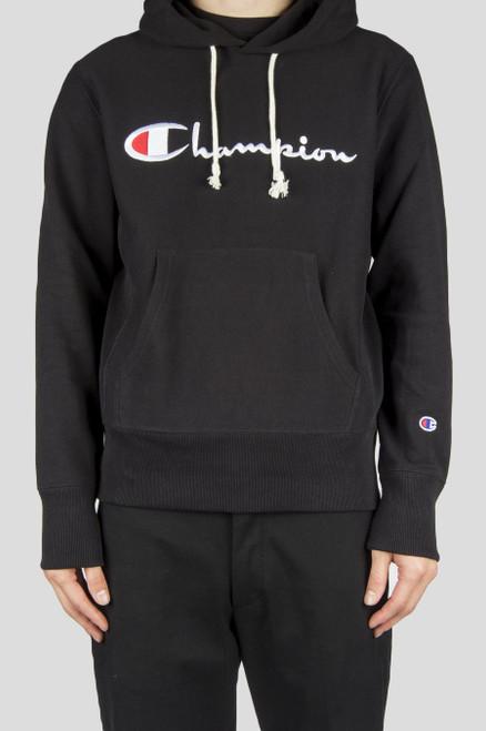 Champion Europe Hooded Sweat Shirt Full Chest Logo CEM574