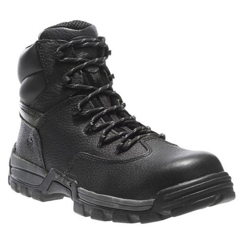 "Wolverine Men's Guardian 6"" Composite-Toe Work Boot W02293 Black"