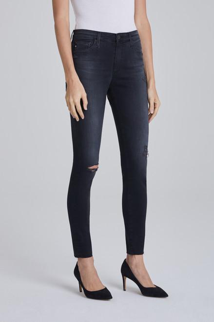 AG Adriano Goldschmied Women's Farrah Skinny Ankle Jeans TVN1777RH Brink Destructed