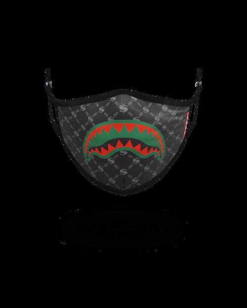 Sprayground Black Spucci Face Mask 910Z311NSZ