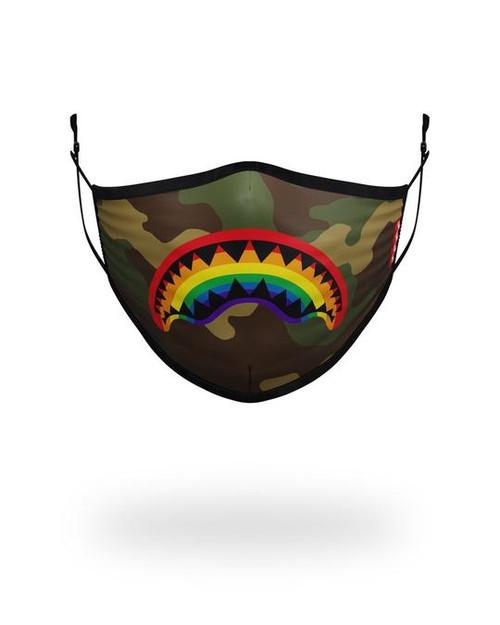 Sprayground Rainbow Shark Face Mask 910Z248NSZ