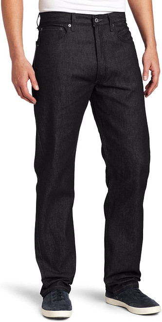 Levi's Men 501 Original Fit Button Fly Modern Black STF 00501-1582