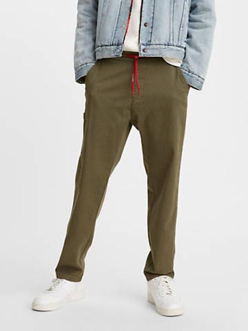Levi's Men Taper Pull On Olive Night Jogger Pants