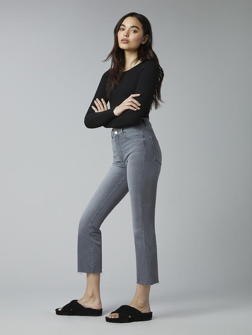 [EXCLUSIVE] DL1961 Mara Straight Overcast Raw Jeans 12979