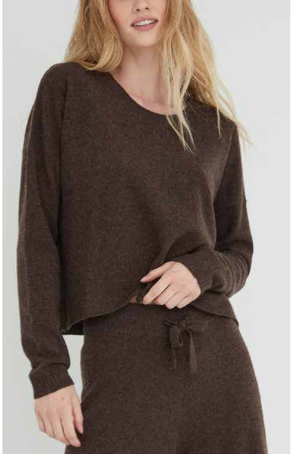 Bella Dahl 100% Cashmere Crew Neck Sweater