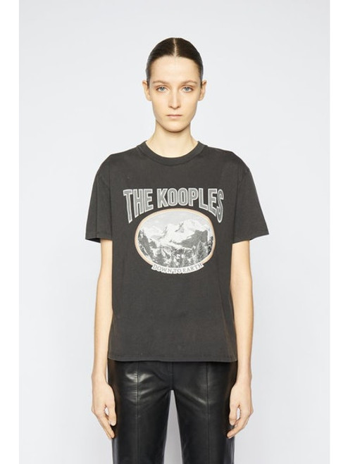 The Kooples Down To Earth Tee FTSC23030K
