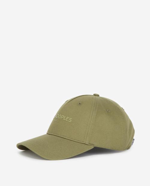 The Kooples Logo Cotton Cap AHHA23001K