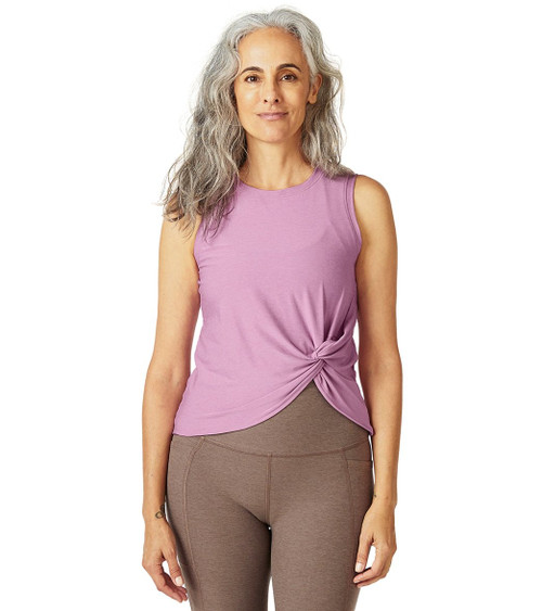 Beyond Yoga Featherweight Front Twist Muscle Tank LWSD4588