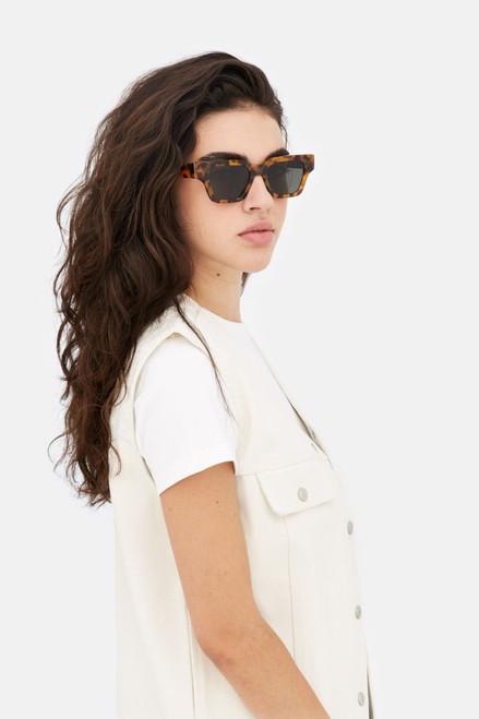 Retrosuperfuture Storia Spotted Havana Sunglasses