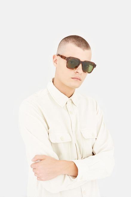 Retrosuperfuture Vasto Havana Rigata Sunglasses