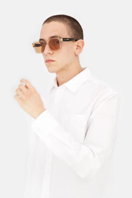 Retrosuperfuture Vasto Resin Havana Sunglasses