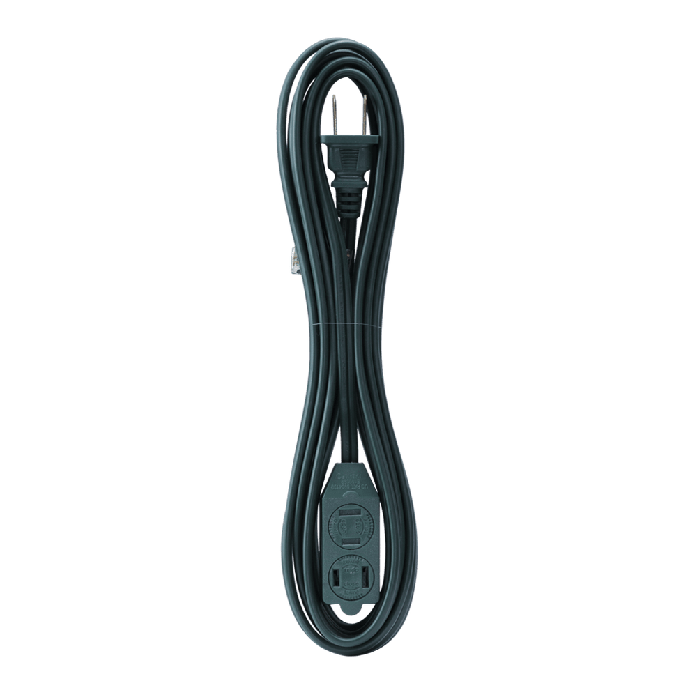 AC15UL GR, 15ft Household Extension Cord