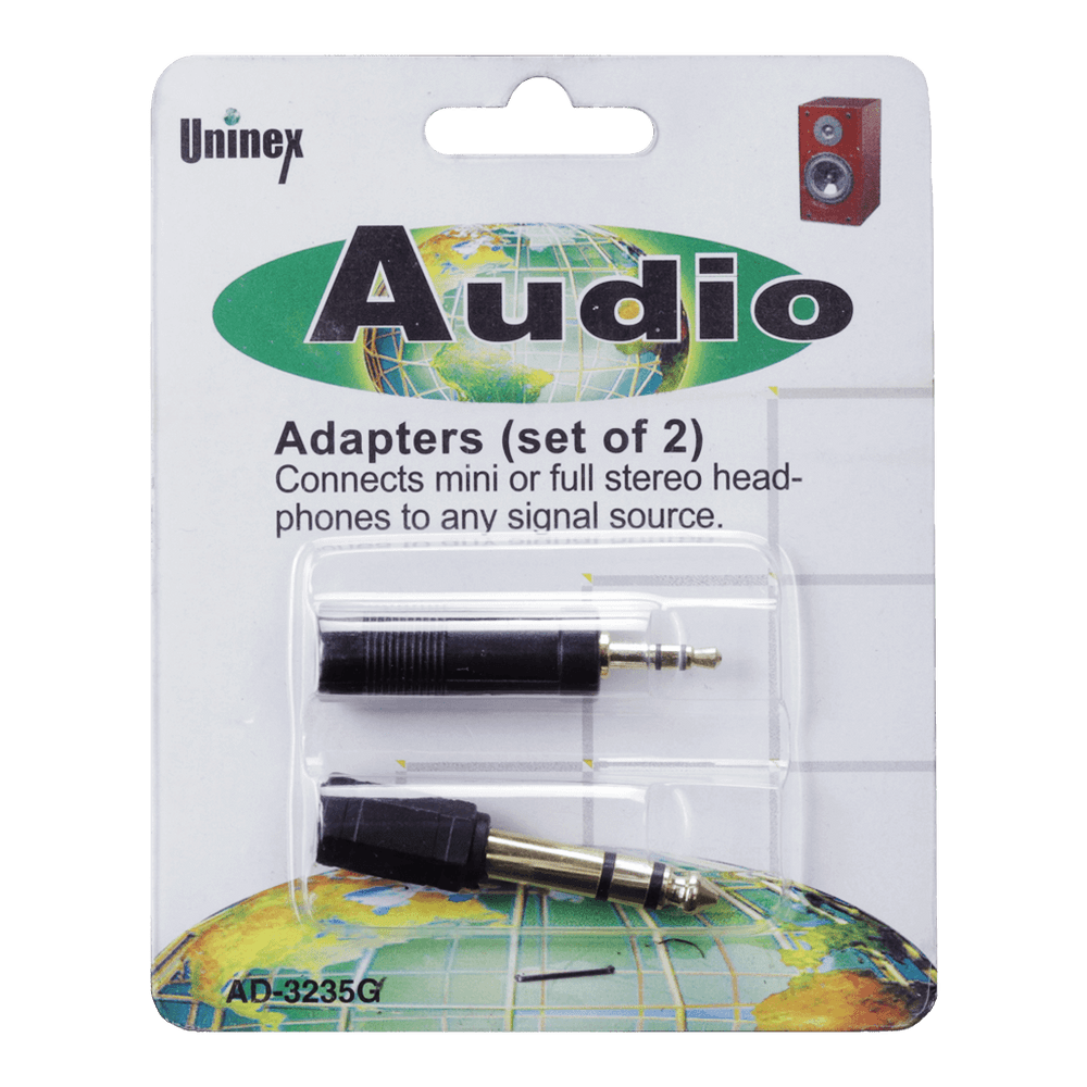 AD-3235G, Audio Adapters (set of 2)