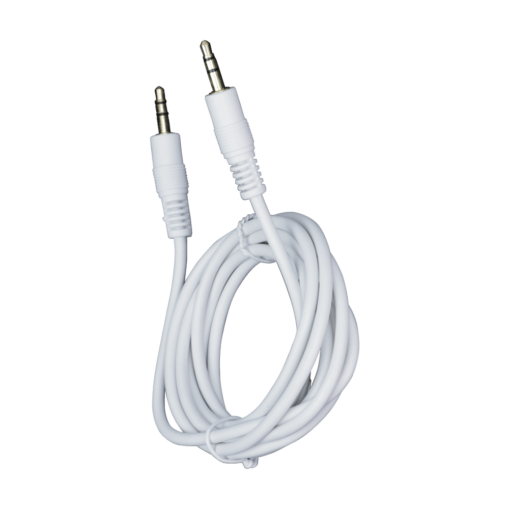 MN06 WT, 6ft (1.83m) 3.5mm Stereo Patch Cable