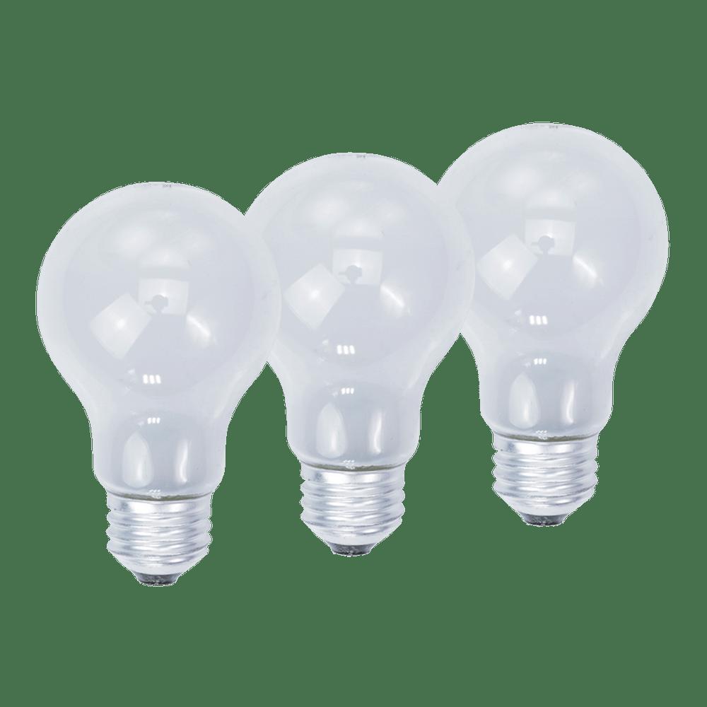 KL11003, 3-Pack 100W Soft White Light Bulbs