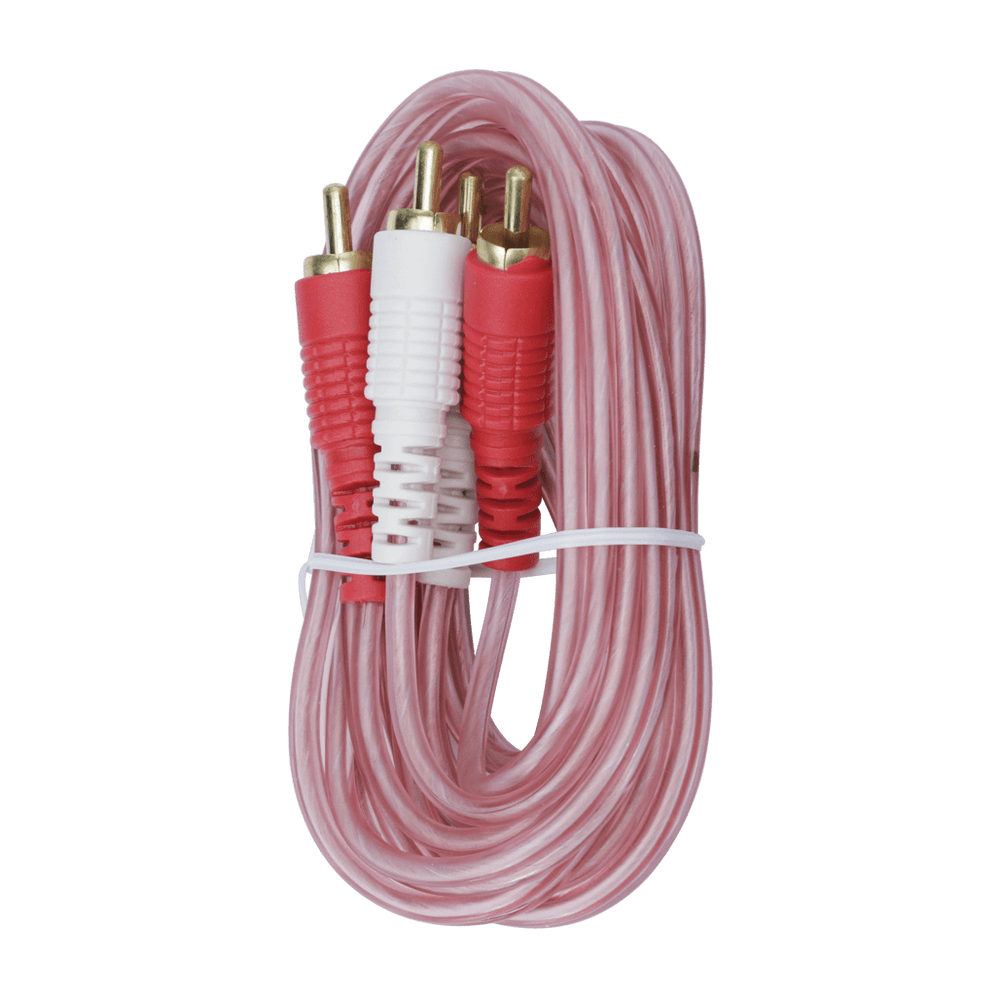 RCA206CL, 6ft (1.83m) RCA Stereo Oxygen Free Patch Cable