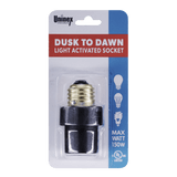 PS44 BK, Dusk To Dawn Light Activated Socket