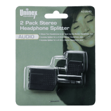 AD3640, 2 Pack Stereo Headphone Splitter