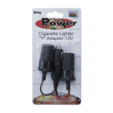 "CV021, Cigarette Lighter ""Y"" Adapter-12V"